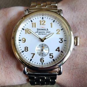 Men's shinola watch